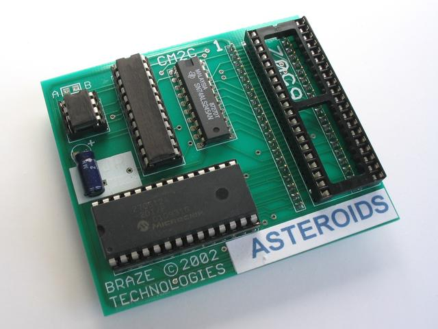 Braze Technologies - Asteroids High Score Save Kit