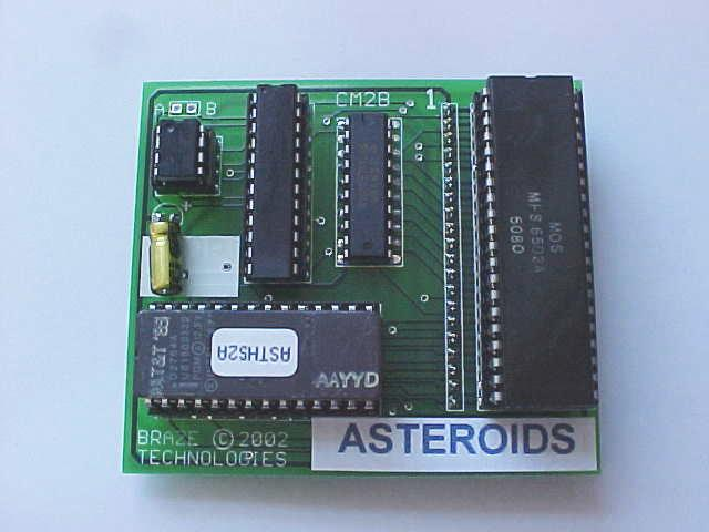 Asteroids High Score Save Kit -- Installation Guide